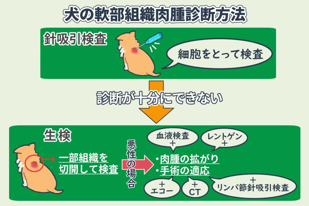 犬の軟部組織肉腫診断方法
