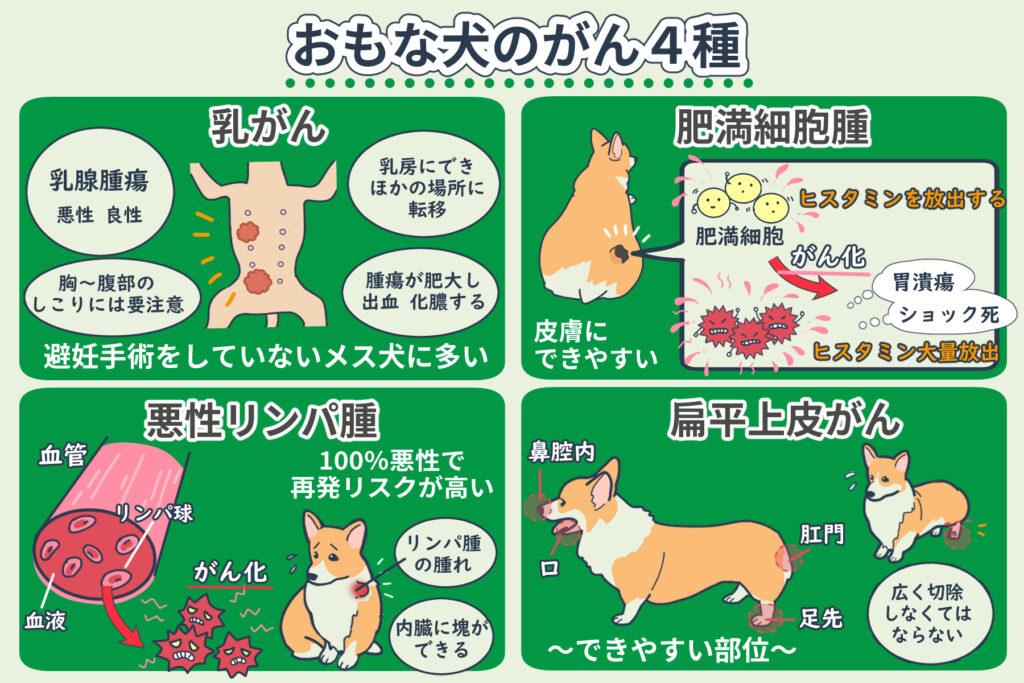 犬の癌の種類